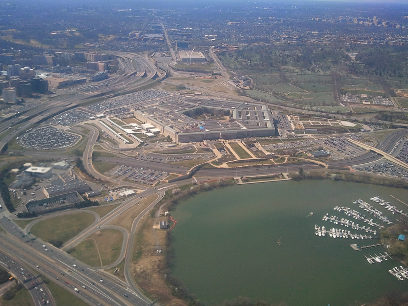 Pentagon from DCA