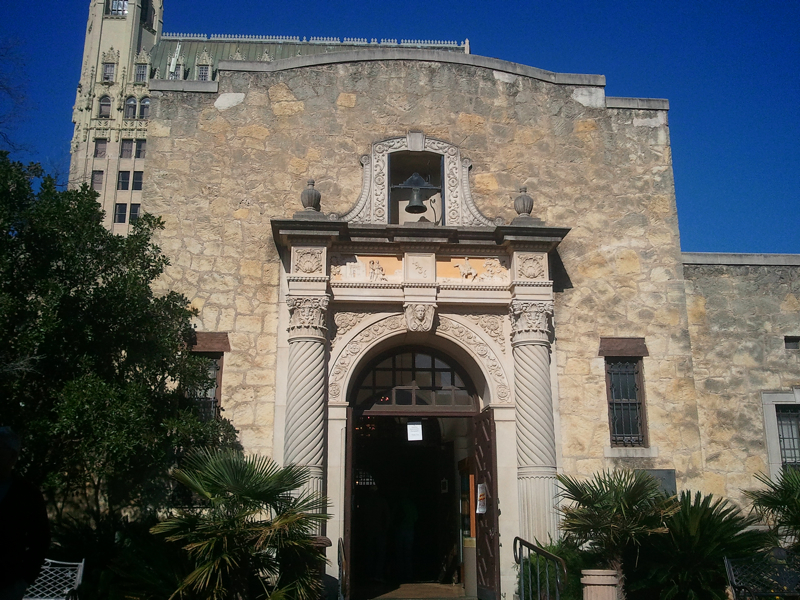 Visitor Center at The Alamo