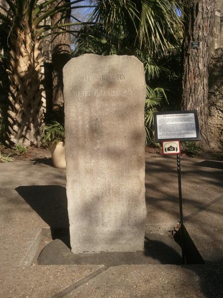 Japanese Memorial to Alamo Heros