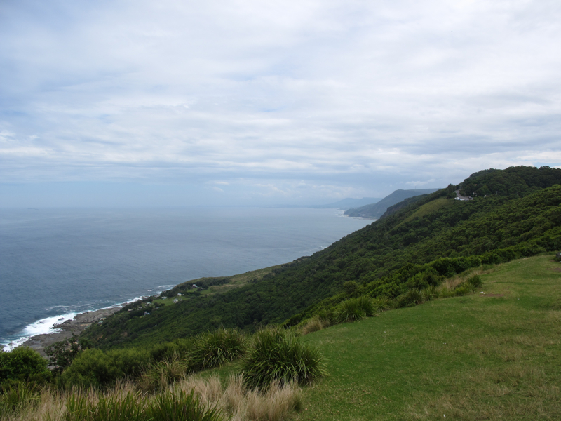 Along the coast towards Wollongong